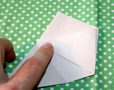 Alphabet Glue paper pots tutorial 3