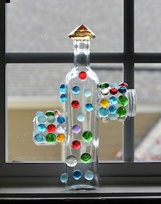 Play At Home Mom glass jar sculptures