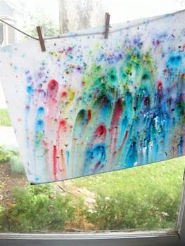 Elsie Marley rain painting