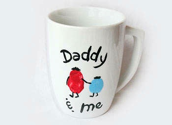 Kaboose father's day mug kids gift