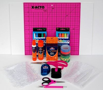 Elmer's Craft Kit contents