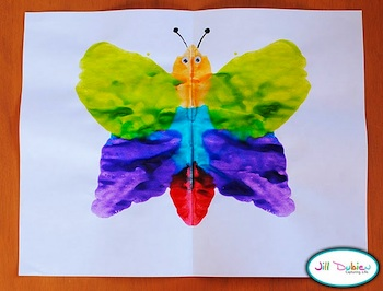 Meet The Dubiens Mirror Image Butterflies