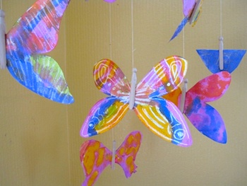 The Artful Parent butterflies