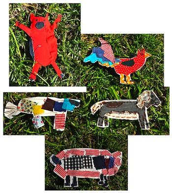 Se7en fabric farmyard animals