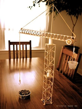 Build A Miniature Tower Crane on Abc Countdown Calendars
