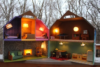 Dollhouse Lights Tutorial Things To Make And Do Crafts And