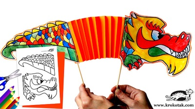 10 Dragon Crafts For Kids Things To Make And Do Crafts And