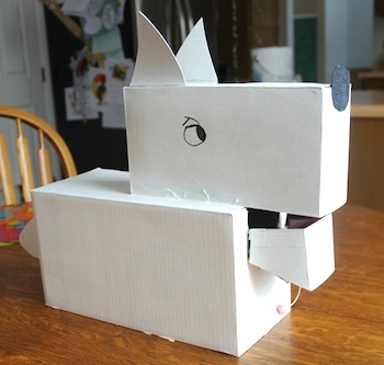 Joybucket at Flickr valentine box dog