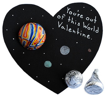 Zakka Life valentine card out of this world