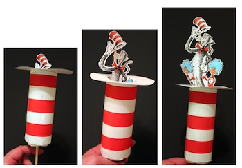 Stuff By Ash tp roll cat in the hat puppets