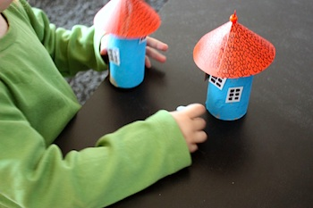 Paperiliitin moomin houses