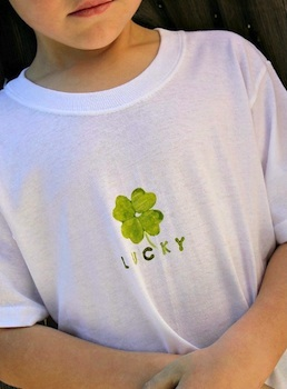Multiples & More st. patrick's day t-shirt print