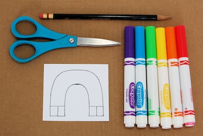 The Crafty Crow q-tip marble maze rainbow color and cut