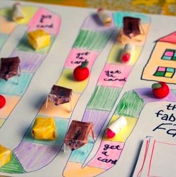 Make Your Own Board Game Things To Make And Do Crafts