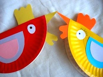 Qlturka paper plate hens