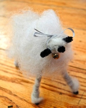 Rhythm Of The Home woolly sheep tutorial