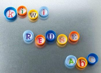 Kiwi Magazine Online plastic lid abc magnets