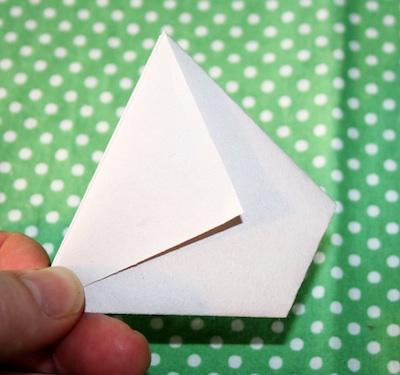 Alphabet Glue paper pots tutorial 5