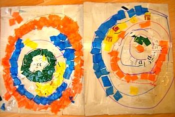 Active Learning Art kandinsky collage
