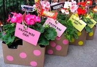 Skip To My Lou may day baskets