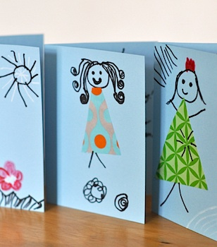 Lilla A cute mother's day card to make