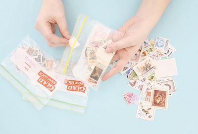 Lotta stamp step 1