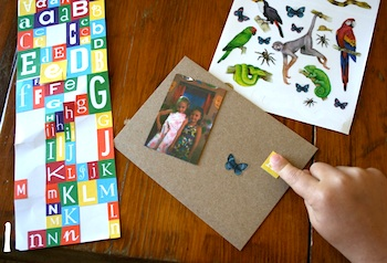 Playful Learning homemade thank you cards