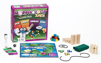 Morphology Jr. giveaway at The Crafty Crow 5