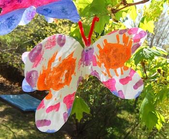 Ikat Bag butterfly craft