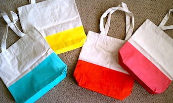 Easy Painted Tote Bags - Things to Make and Do, Crafts and ...
