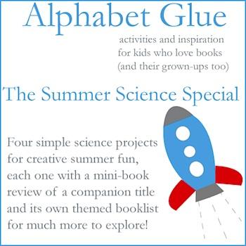 Alphabet Glue the summer science issue