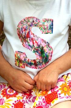 Aesthetic Nest scribble monogram t-shirt