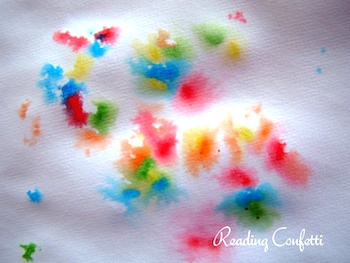 Reading Confetti sprinkle fireworks