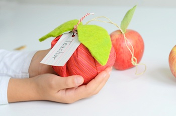 Willowday apple sachet tutorial