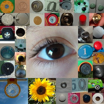 Helping Little Hands beginning photography for children circle photo montage