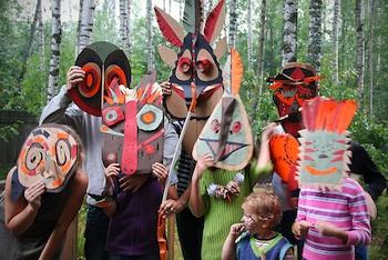 Residents Journal Zhuchkov fantastic paper masks