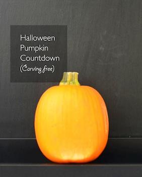 Willowday easy pumpkin halloween countdown calendar
