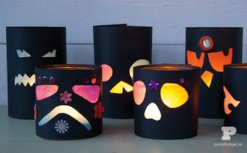 The Southern Institute halloween lanterns craft