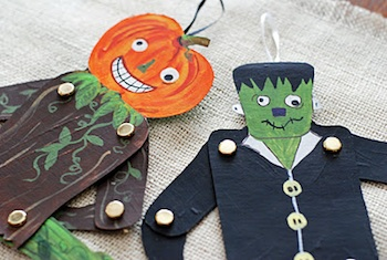 halloween jumping toys things to make and do crafts and