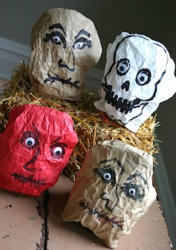 Family Chic paper bag faces