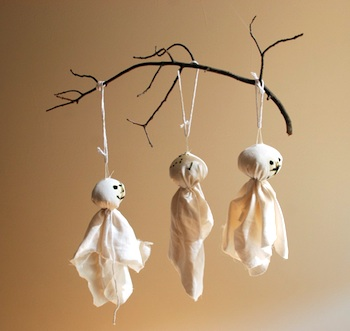 Alanna George tree branch ghost mobile