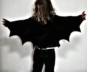 My Poppet easy to make bat wings