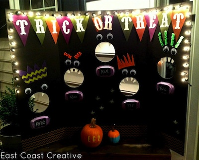 East Coast Creative pick your candy halloween party craft game