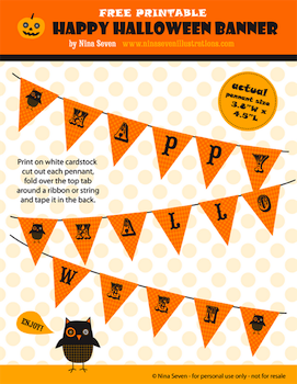 We Love To Illustrate halloween banner