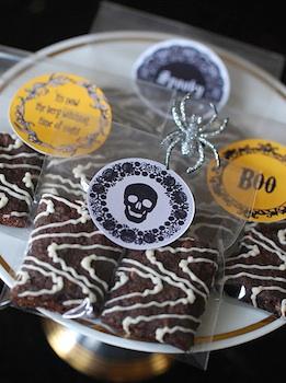 Tangarang halloween stickers