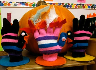 glove turkey softies stuffed mitten turkey craft