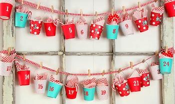 homemade advent calendar idea advent calendar