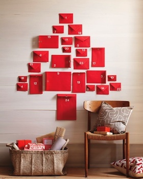 homemade advent calendar ideas easy red envelope handmade advent calendar