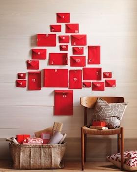 homemade advent calendar ideas easy red envelope handmade advent calendar