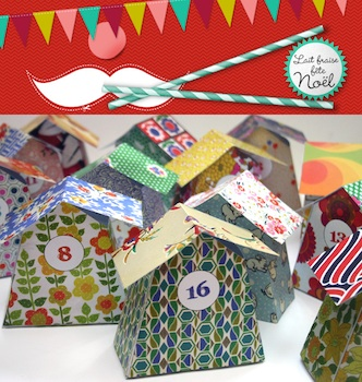 homemade advent calendar little house advent calendar